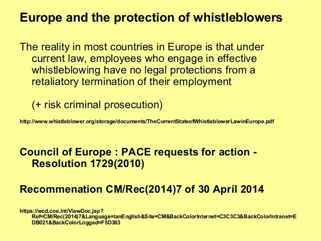 the whistleblower protection act essay Introduction of whistleblower essays: order plagiarism free custom written essay we do not have a complete whistleblower protection act or a witness.