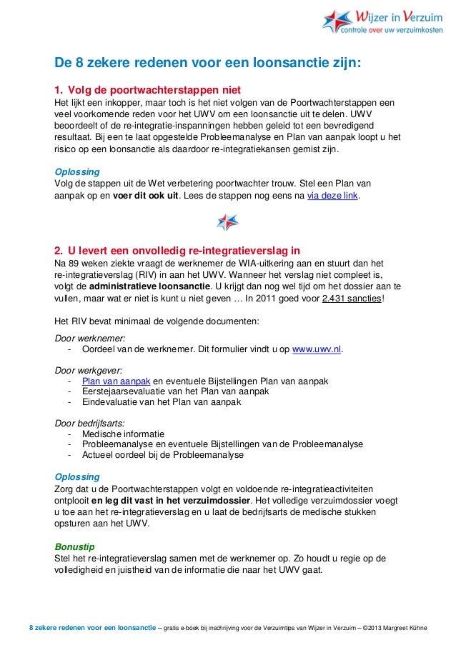 plan van aanpak werkgever Voorkomen van loonsanctie plan van aanpak werkgever