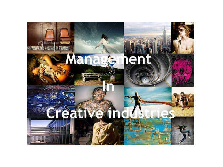 Management  In  Creative industries