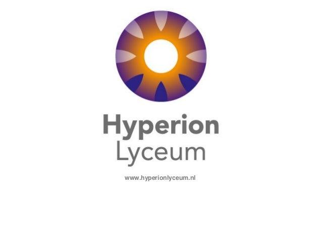 www.hyperionlyceum.nl