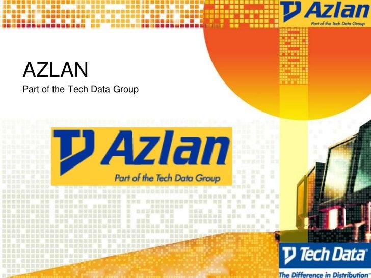 AZLANPart of the Tech Data Group