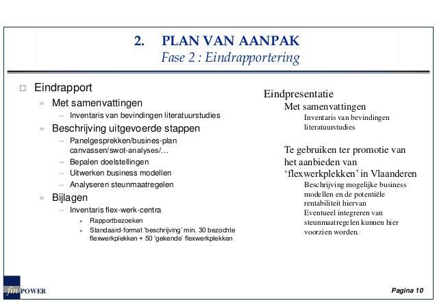 doelstelling plan van aanpak Plan van aanpak business plan doelstelling plan van aanpak