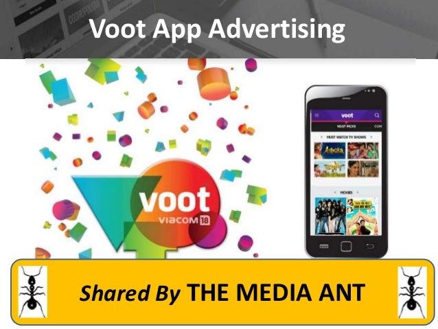 Voot advertising details