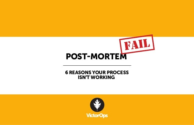post mortem templates for projects