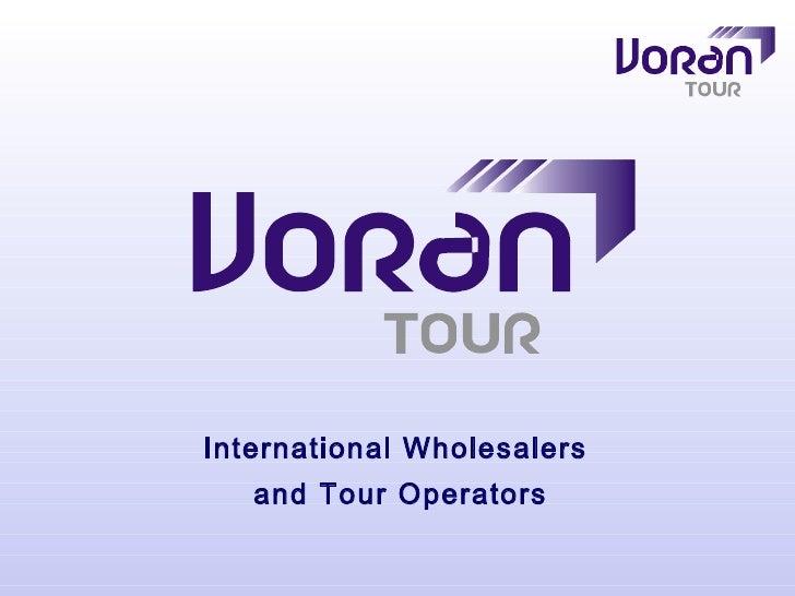 International Wholesalers  and Tour Operators