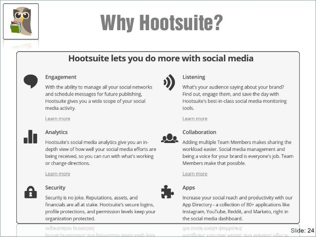 Slide: 24 Why Hootsuite?