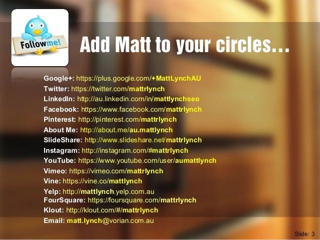Vorian Agency EDM & eNewsletter Marketing with MailChimp Seminar Slide 3