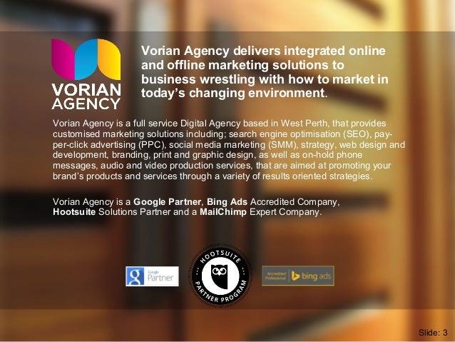 Facebook Training Course - Vorian Agency 2016 Slide 3