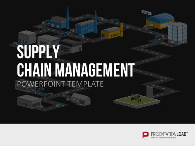 Supply chain management ppt template supply chain management powerpoint template toneelgroepblik Gallery