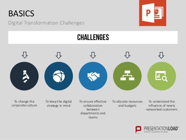 digital transformation ppt Digital Transformation PPT Slide Template