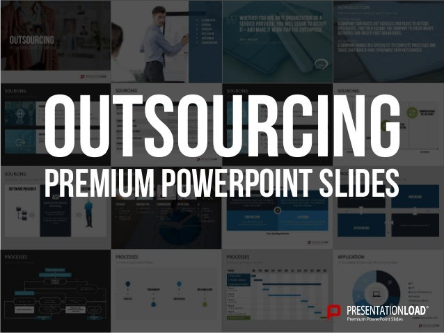 PREMIUM POWERPOINT SLIDES Outsourcing