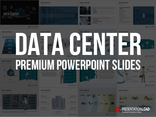 PREMIUM POWERPOINT SLIDES Data Center