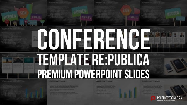 PREMIUM POWERPOINT SLIDES Template re:publica Conference