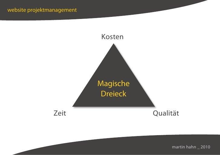 website projektmanagement                                Kosten                                 Magische                  ...