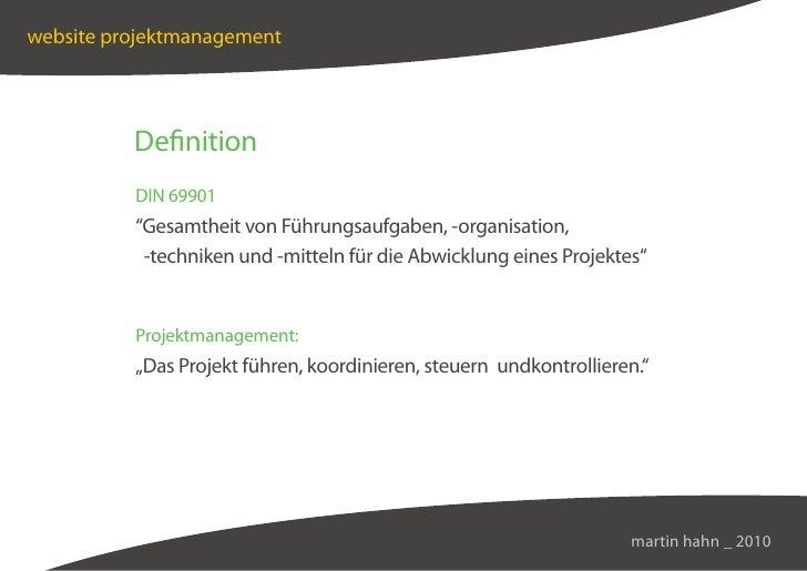 Web-Management & -Konzeption Slide 2