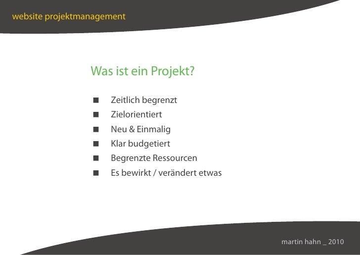 Web-Management & -Konzeption Slide 3
