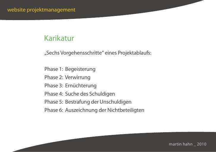 """website projektmanagement                  Karikatur              """"Sechs Vorgehensschritte"""" eines Projektablaufs:         ..."""