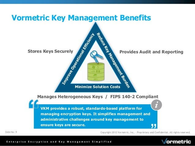 Security Policy And Key Management Centrally Manage