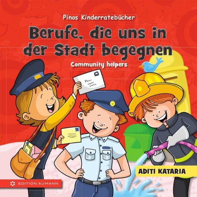 ADITI KATARIA Pinos Kinderratebücher Community helpers Berufe, die uns inBerufe, die uns inBerufe, die uns inBerufe, die u...