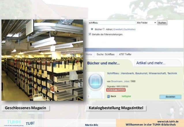 Geschlossenes Magazin  Katalogbestellung Magazintitel  Willkommen in der TUHH-Bibliothek TUHH Technische Universität Hambu...