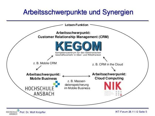 Arbeitsschwerpunkte und Synergien                               Lotsen-Funktion                          Arbeitsschwerpunk...
