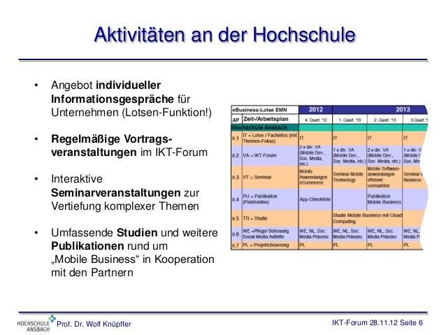 Aktivitäten an der Hochschule•   Angebot individueller    Informationsgespräche für    Unternehmen (Lotsen-Funktion!)•   R...