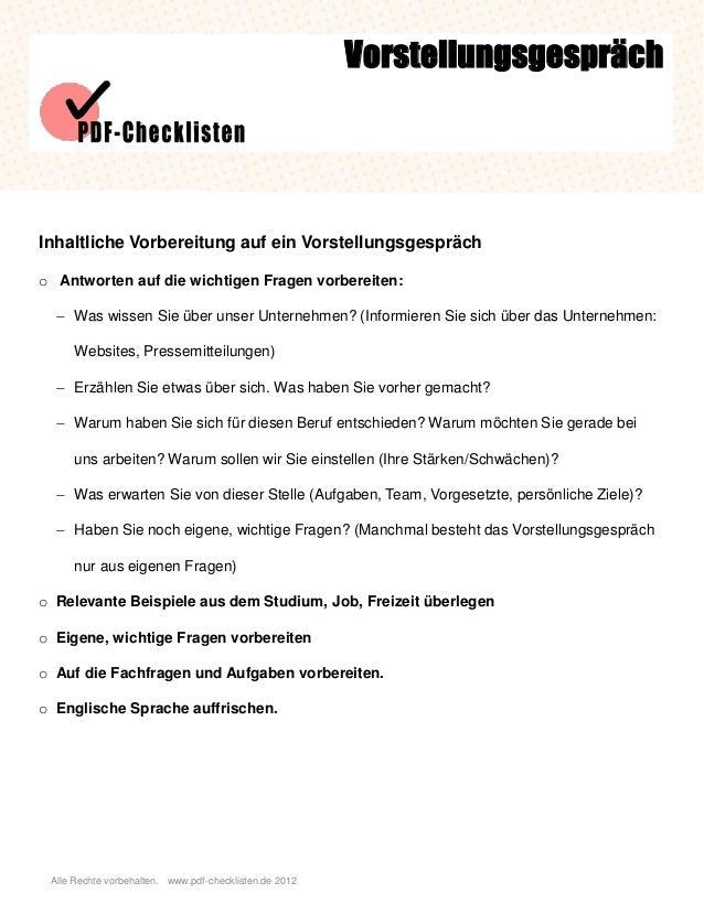 checkliste vorstellungsgespr u00e4ch