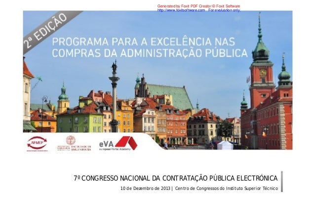 Generated by Foxit PDF Creator © Foxit Software http://www.foxitsoftware.com For evaluation only.  7º CONGRESSO NACIONAL D...