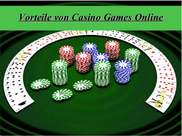 Vorteile von Casino Games OnlineVorteile von Casino Games Online