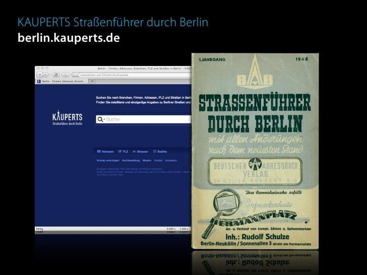KAUPERTS Straßenführer durch Berlin berlin.kauperts.de