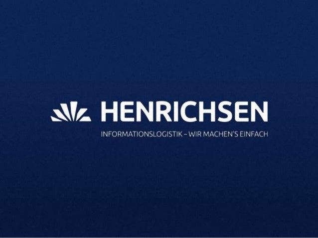 Der optimale Online-Marketing-Mix fürB2B Unternehmen zur Unterstützung derSales PipelineSusanne BöckLeitung Marketing HENR...
