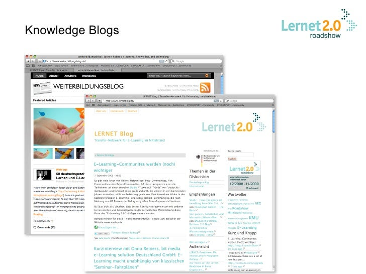 Knowledge Blogs