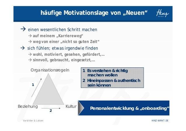 Wie Vorbilder & Lotsen in Organisationen wirksam werden Slide 2