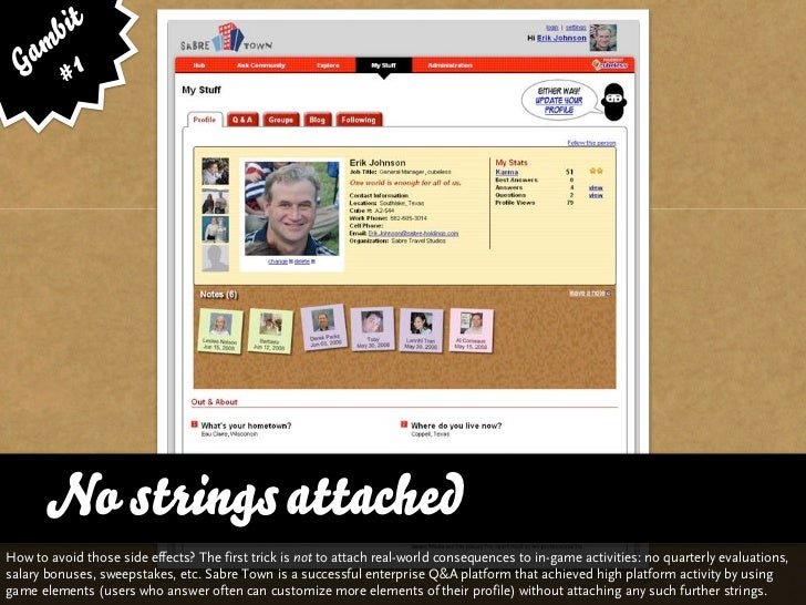 bit   am 1  G #      No strings attachedHow to avoid those side effects? The first trick is not to attach real-world conse...
