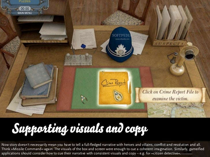 Supporting visuals and copyNow story doesn't necessarily mean you have to tell a full-fledged story with heroes and villai...