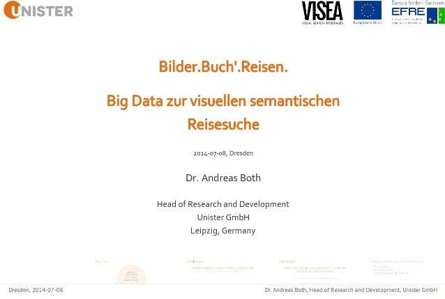 Bilder.Buch'.Reisen - Big Data zur semantischen Reisesuche