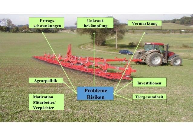 Umstellung auf Ökolandbau in der Pflanzenproduktion Bereich Bedenken, Fragen Ergebnis Marktproduktion Ertragsrückgang Ja, ...