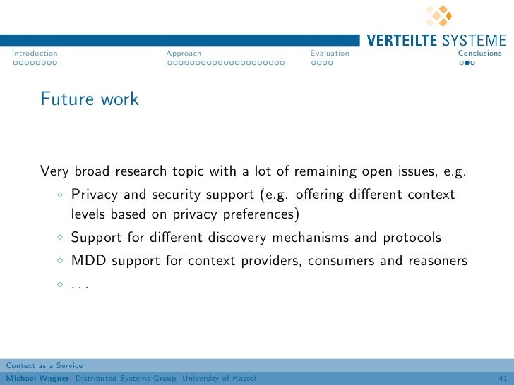 Introduction                          Approach                 Evaluation    Conclusions        Future work        Very br...