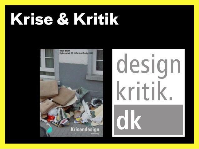 Dilemmata. Probleme der Designkritik Slide 2