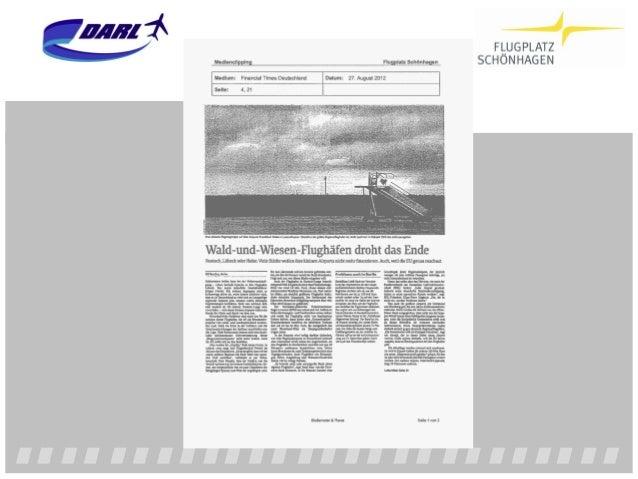 """Flughafenkonzept der Bundesregierung 2009 3.1.2.3 Allgemeine Luftfahrt und Businessaviation """"Anteilseigner vieler regional..."""