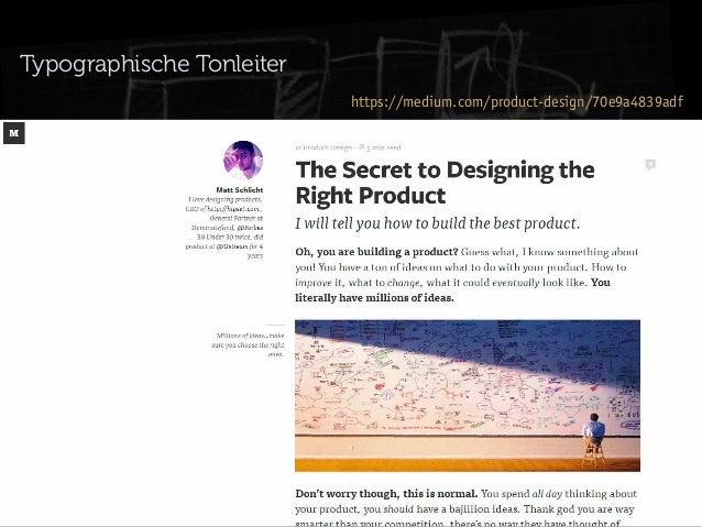 Typographische Tonleiter https://medium.com/product-design/70e9a4839adf