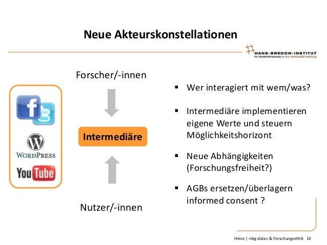 Neue Akteurskonstellationen Forscher/-innen  Wer interagiert mit wem/was?  Intermediäre   Intermediäre implementieren ei...