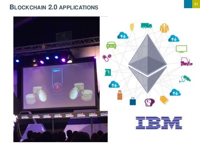 21 BLOCKCHAIN 2.0 APPLICATIONS