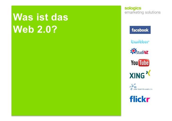 Was ist das Web 2.0?