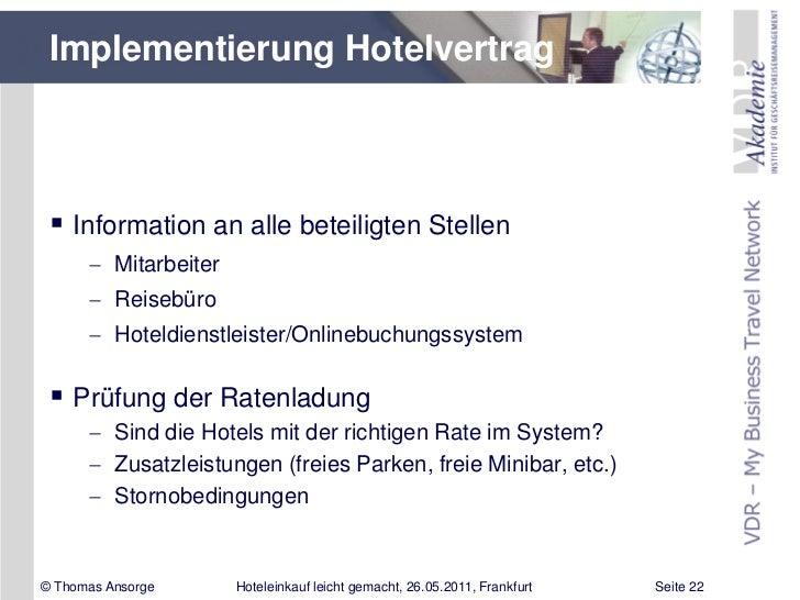 """IMEX 2011: Vortrag von Thomas Ansorge: """"Hoteleinkauf leicht gemacht –…"""