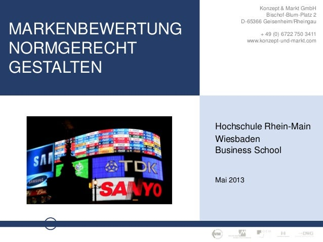 M A R K E N B E W E R T U N G · S E I T E 1Konzept & Markt GmbHBischof-Blum-Platz 2D-65366 Geisenheim/Rheingau+ 49 (0) 672...
