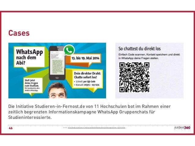 Messenger als neueste Evolutionsstufe der digitalen Kommunikation? Ch…