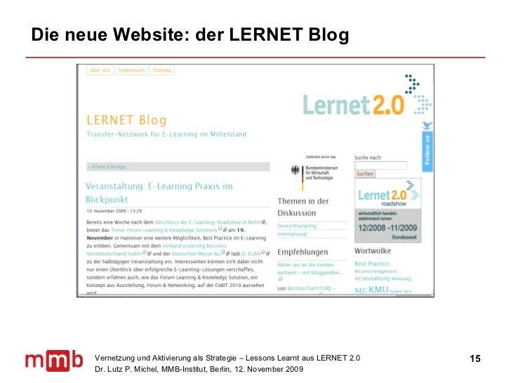 Die neue Website: der LERNET Blog