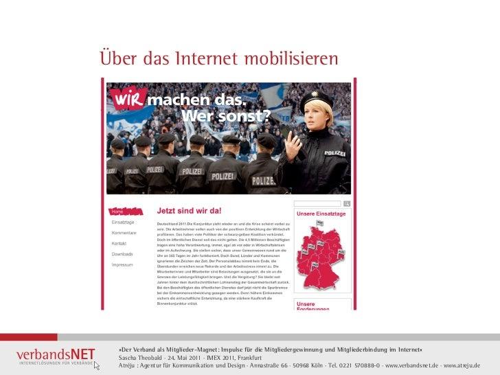 Über das Internet mobilisieren·    »Der Verband als Mitglieder-Magnet: Impulse für die Mitgliedergewinnung und Mitgliederb...