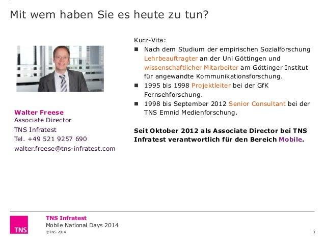 TNS Walter Freese, Associate Director Slide 3